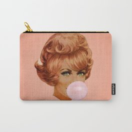 Bubblegum - pink Carry-All Pouch