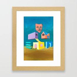 The Floating Neighborhood Framed Art Print