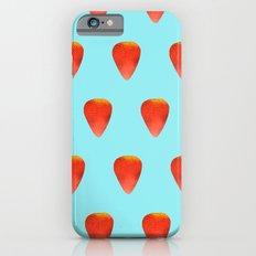 Strawberry Pattern iPhone 6s Slim Case