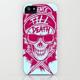 Create Till Death iPhone Case