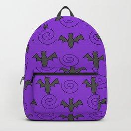 bat swirls Backpack