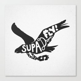 Supa Dupa Fly! Canvas Print
