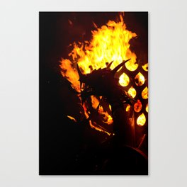 From The Darkness - Y Ddraig Goch/ The Welsh Dragon Canvas Print