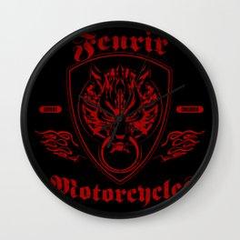 Fenrir Motorcycles Wall Clock