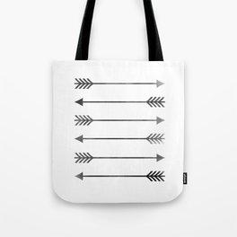 Watercolor Arrows Tote Bag