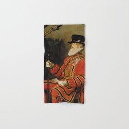 John Everett Millais - The Yeoman of the Guard Hand & Bath Towel