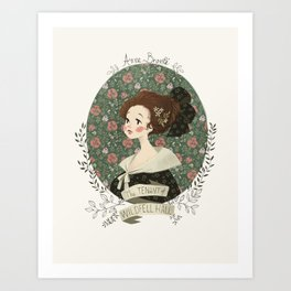 The tenant of Wildfell hall Art Print