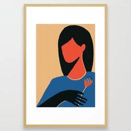 Fernanda Framed Art Print