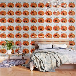 Trick or Treat Jack-O-Lantern, Halloween Pumpkin Wallpaper