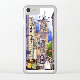 Aix en Provence Clear iPhone Case