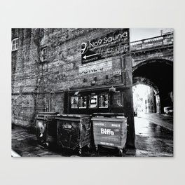 dark corner Canvas Print