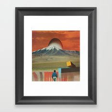 The Changing Of The Light Framed Art Print
