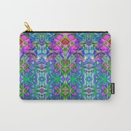 Fractal Art Stained Glass G372 Carry-All Pouch