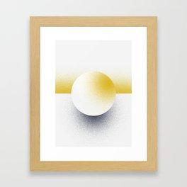 Shape Studies: Circle II Framed Art Print