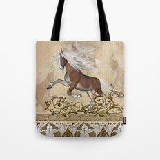 Wonderful wild horse Tote Bag
