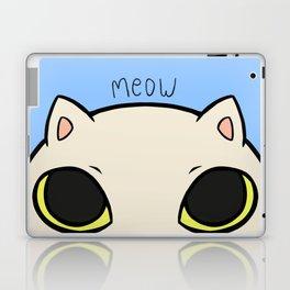 Meow - Blue Laptop & iPad Skin