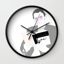 To Chill with a Mockingbird Wall Clock