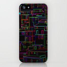 Midnight in Manarola, Cinque Terre, Italy iPhone Case