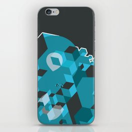 Ampersand Lost in Cubes iPhone Skin