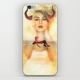 The Devil is in the Box by GEN Z iPhone Skin