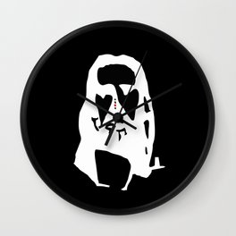 Jesus Illusion Wall Clock
