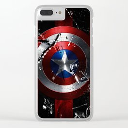 Captain Roger Shield Clear iPhone Case