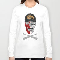 warrior Long Sleeve T-shirts featuring warrior by mauro mondin