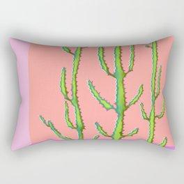 Three Amigos Cacti Rectangular Pillow