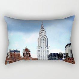 Chrysler Building Rectangular Pillow