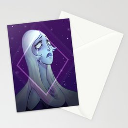 Blue Diamond Stationery Cards