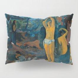 """Paul Gauguin """"D'où venons-nous? Que sommes-nous? Où allons-nous?"""" Pillow Sham"""