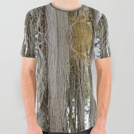 JUNIPERS ON SHAW ISLAND All Over Graphic Tee