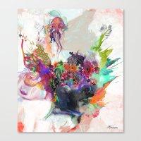 archan nair Canvas Prints featuring Awake by Archan Nair