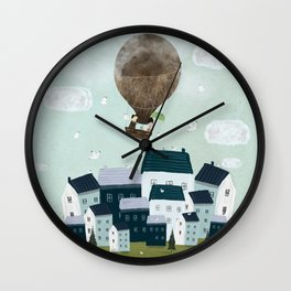 with the birds Wall Clock