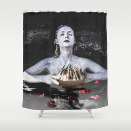 The Crown Shower Curtain