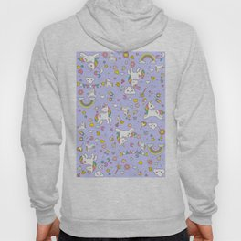 Unicorn Lilac Pattern Hoody