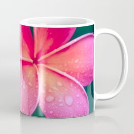 Aloha Hawaii Kalama O Nei Pink Tropical Plumeria Coffee Mug