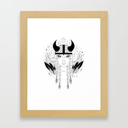 Viking Bitch Framed Art Print