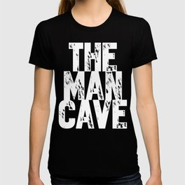 The Man Cave - inverse T-shirt