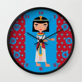 Old Egyptians walking  Wall Clock