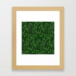 Short Circuits Framed Art Print