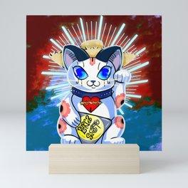 Salvi Maneki Neko Mini Art Print