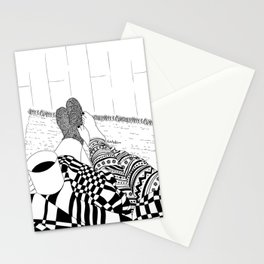 Cozy Night Stationery Cards