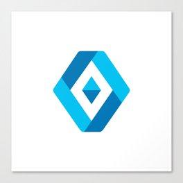 Luxe Diamond Canvas Print