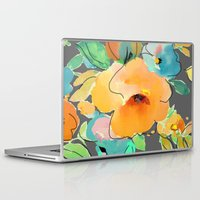 fall Laptop & iPad Skins featuring fall by Ariadne