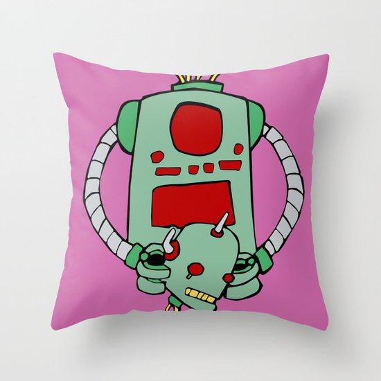 Are We Robot? Throw Pillow