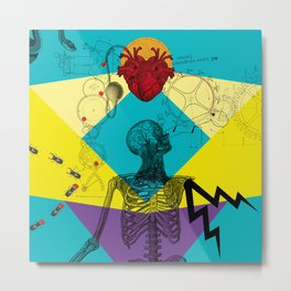 The Love machine Metal Print