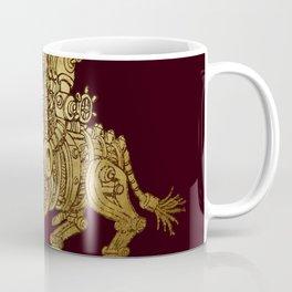 golden mechanical bull Coffee Mug