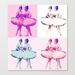 Ballet Pop Art Canvas Print
