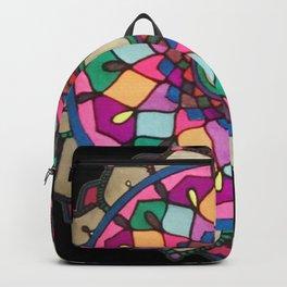 Bright mandala Backpack